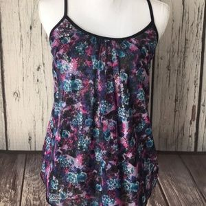 4/$25 DayTrip Racer Back sequin tank top size M